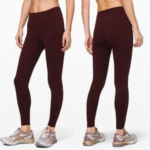 Lululemon Fast and Free High Rise Tight Sz 6